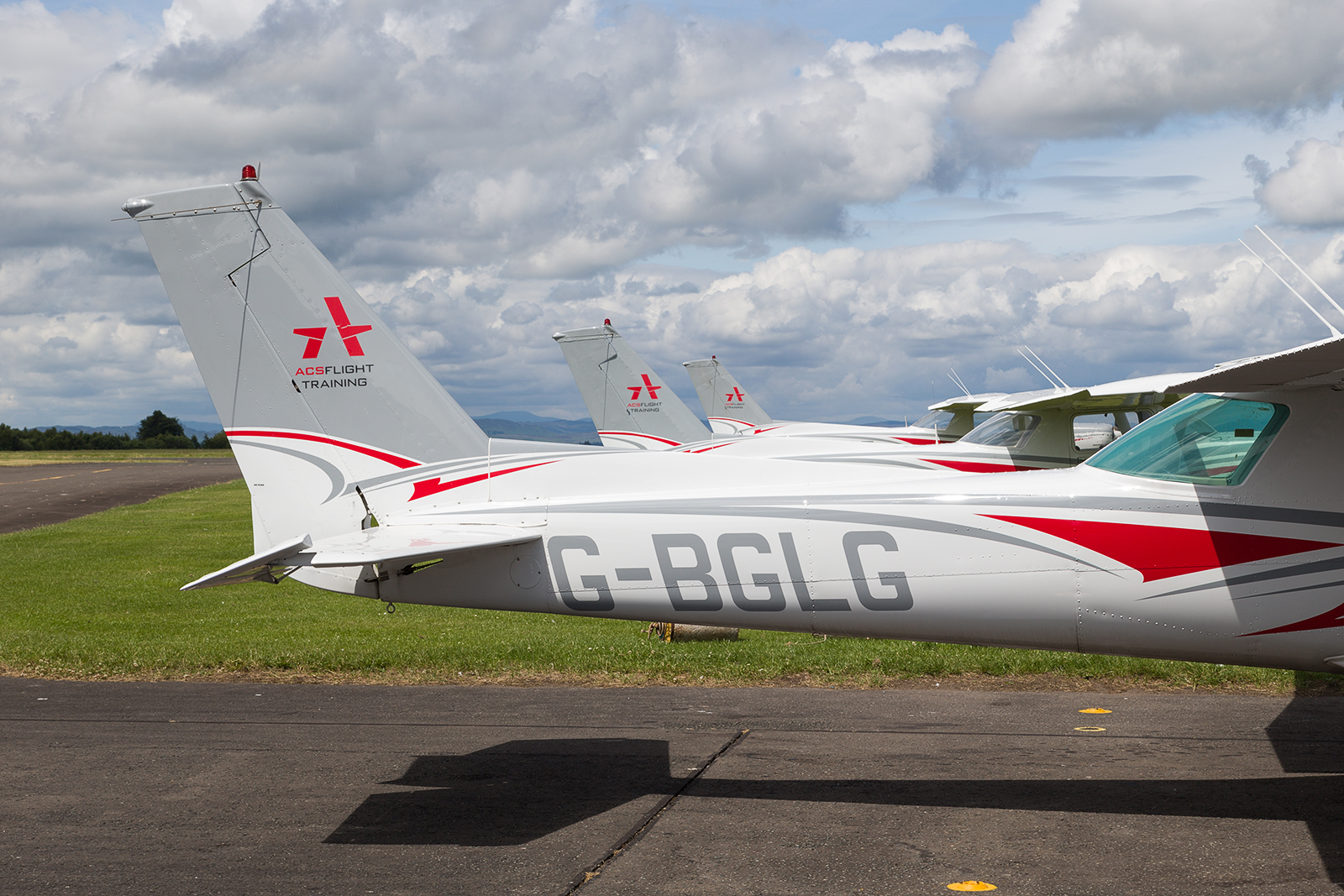 Fleet of Cessna 152 Aircraft